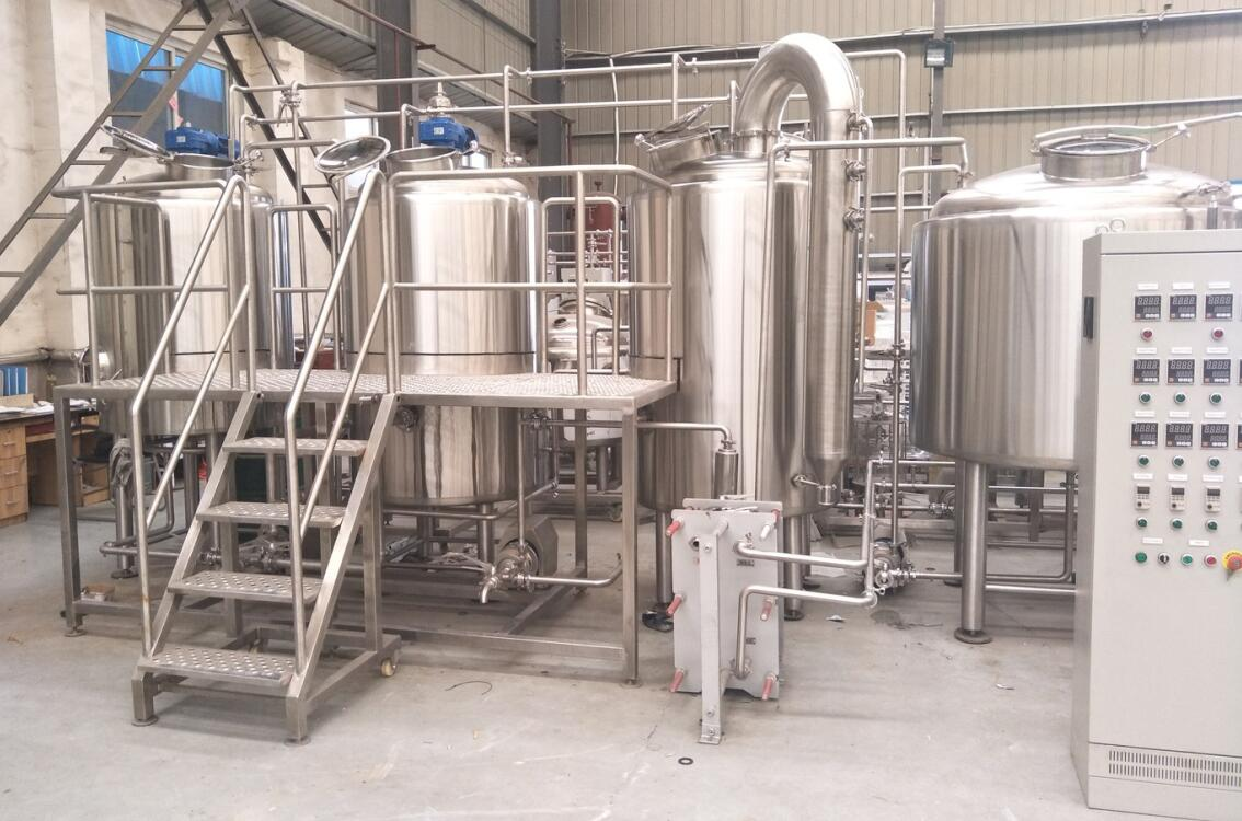 Three Vessel 500L Beer Brewing Machine Delivery to Chile