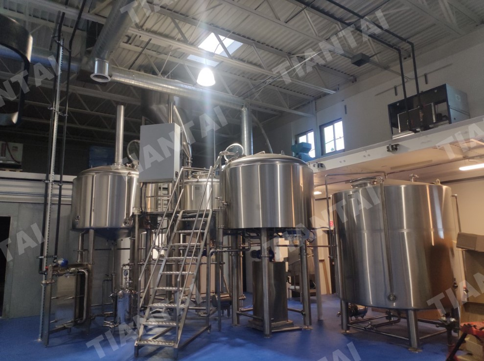<b>2000L Microbrewery system finished installation in US</b>