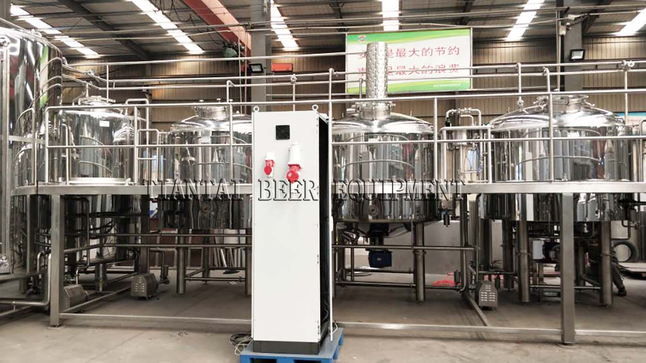 <b>20bbl Mirror brewery,four vessel brewhouse equipment is finished</b>