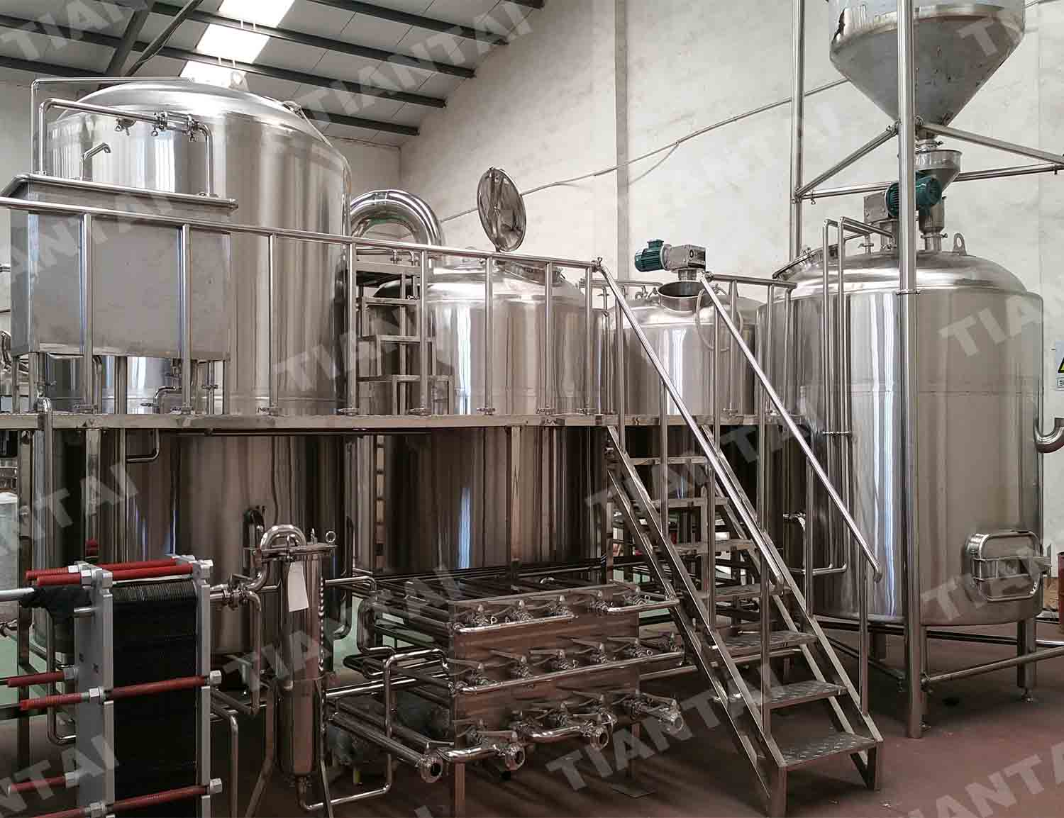 <b>30 bbl Four Vessel Brewhouse Equipment</b>