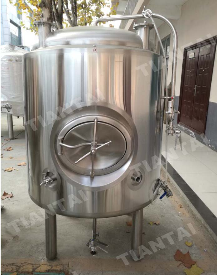 <b>7bbL Double wall bright beer tank</b>