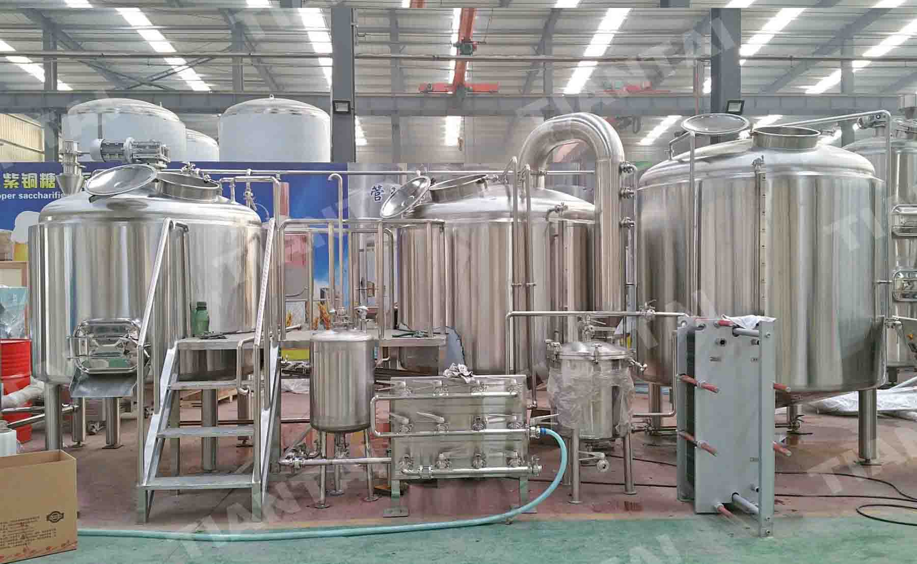15bbl two vessel beer brewing equipment