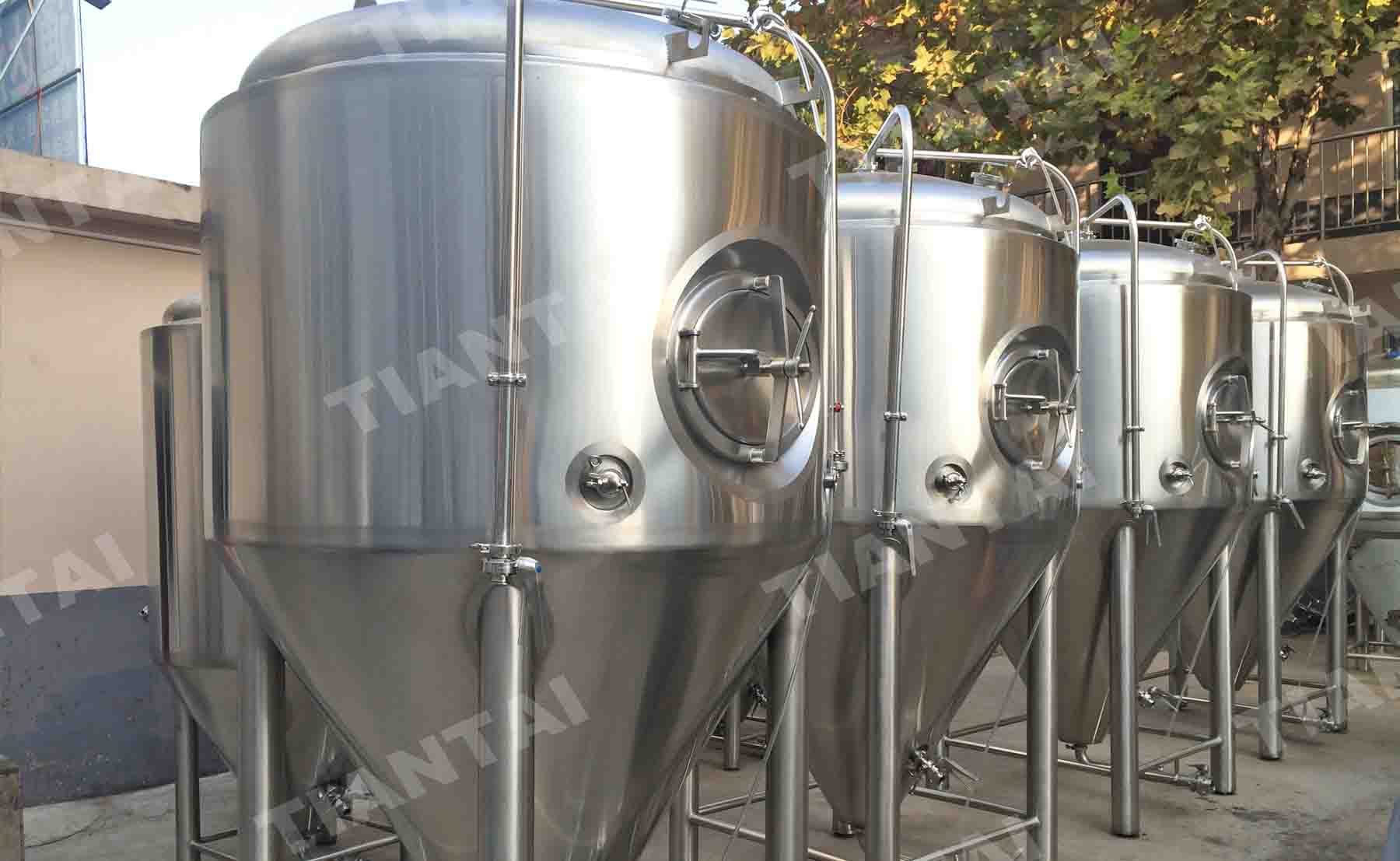 15bbl jacketed fermentation tanks
