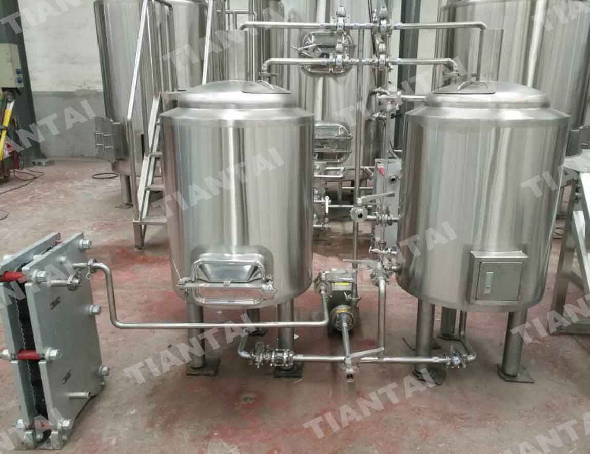 Glycol Chilling Unit 1 Bbl Brite Tank Shares Same And Control Panel With 7 System