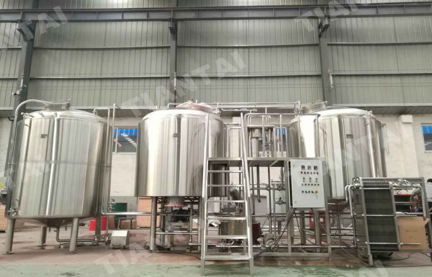 30HL Brewing system installed in Calgary Canada