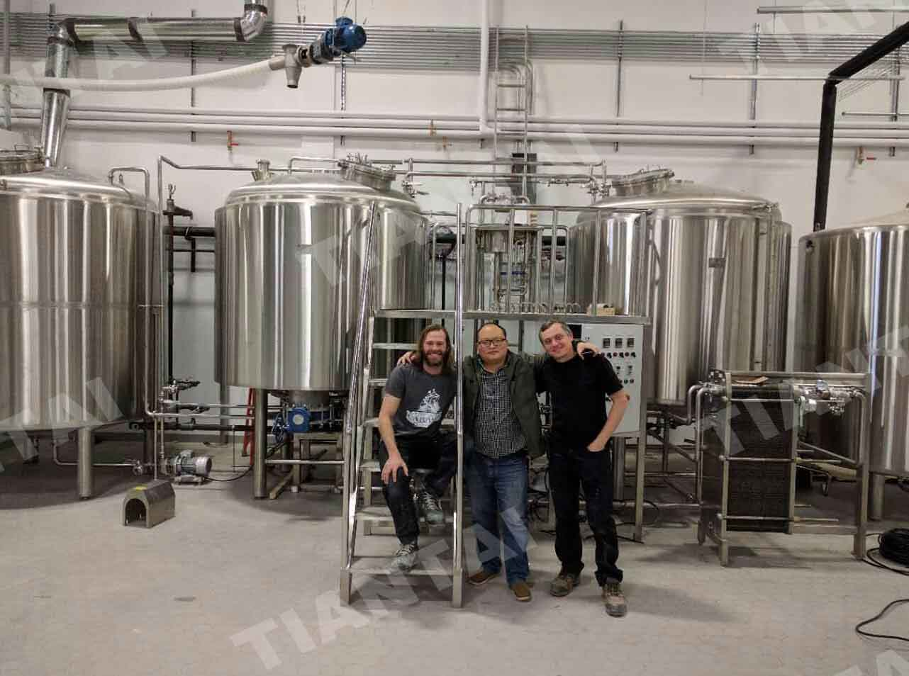 30HL Brewing system installed in Canada
