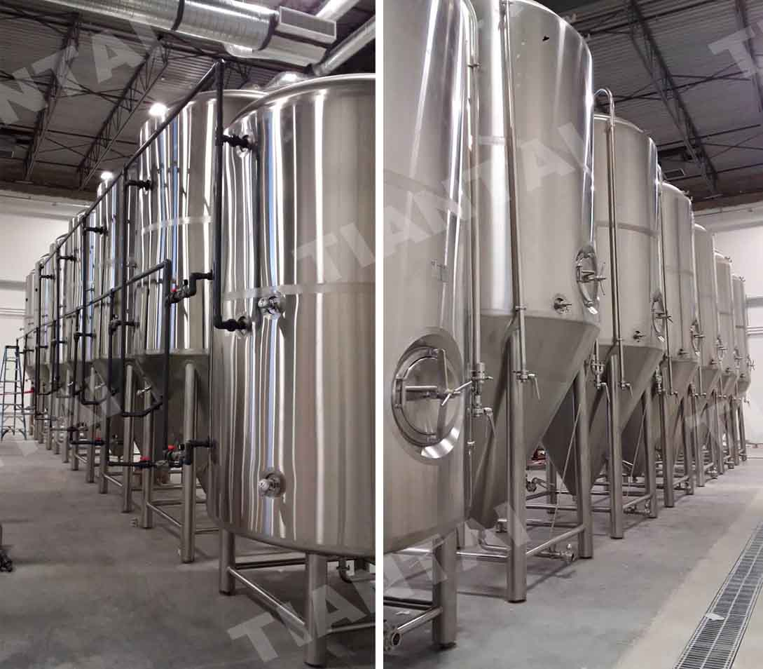 30HL beer Brewing system installed in Canada