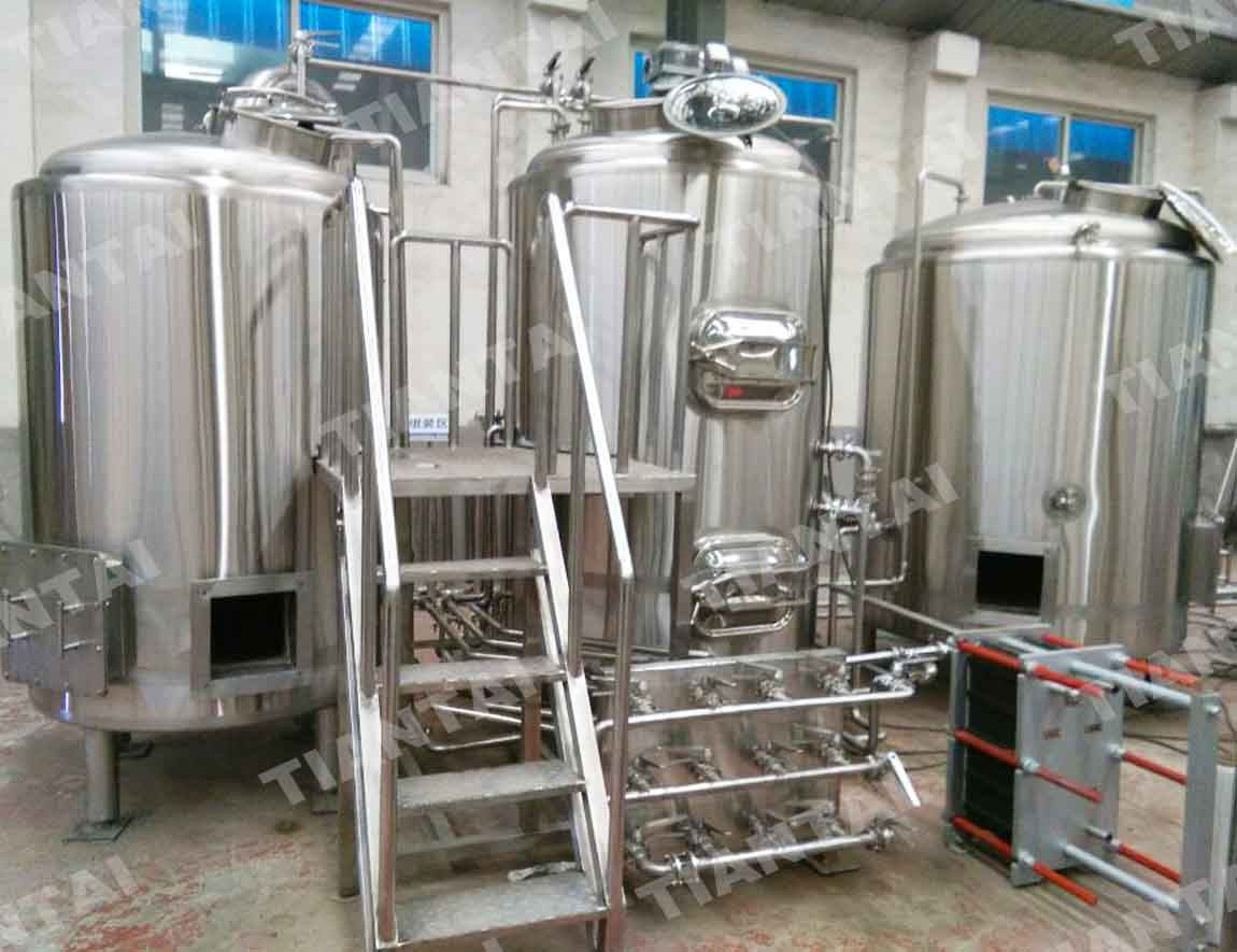 Glycol Chilling Unit 2000L Water Tank And 1x8hp Chiller Controlling Integrated Instrumental Control Cabinet