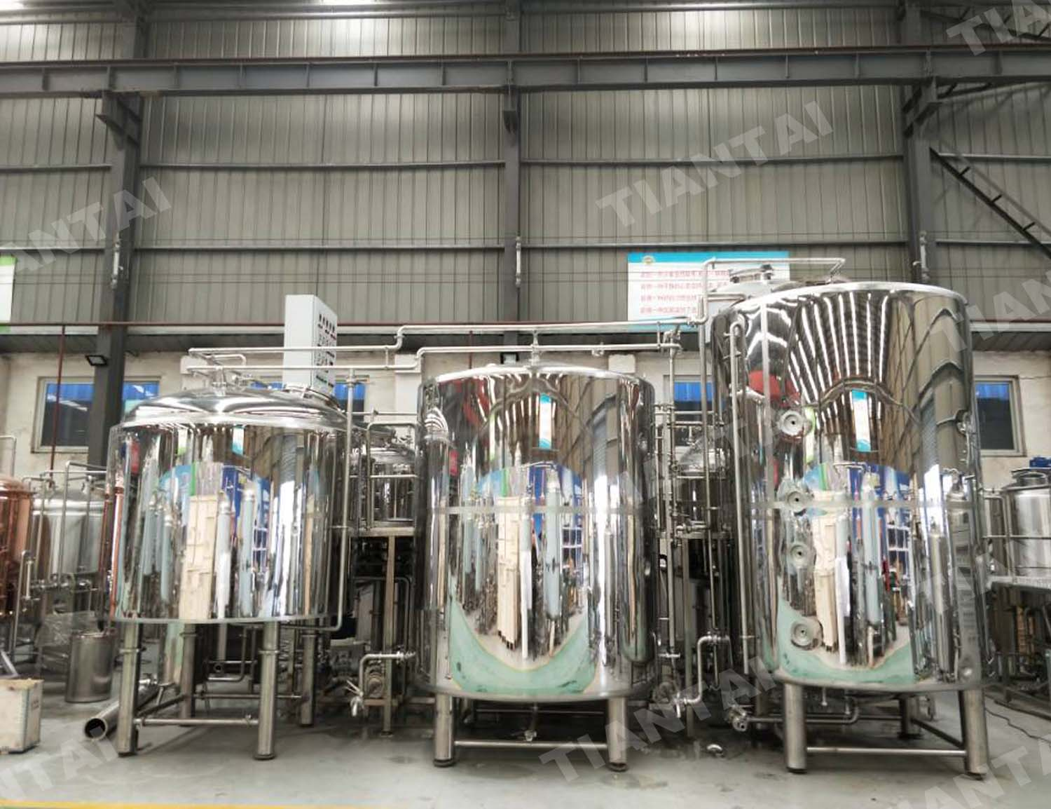 Gallery Various Capacity Beer Brewing System 3bbl 5bbl