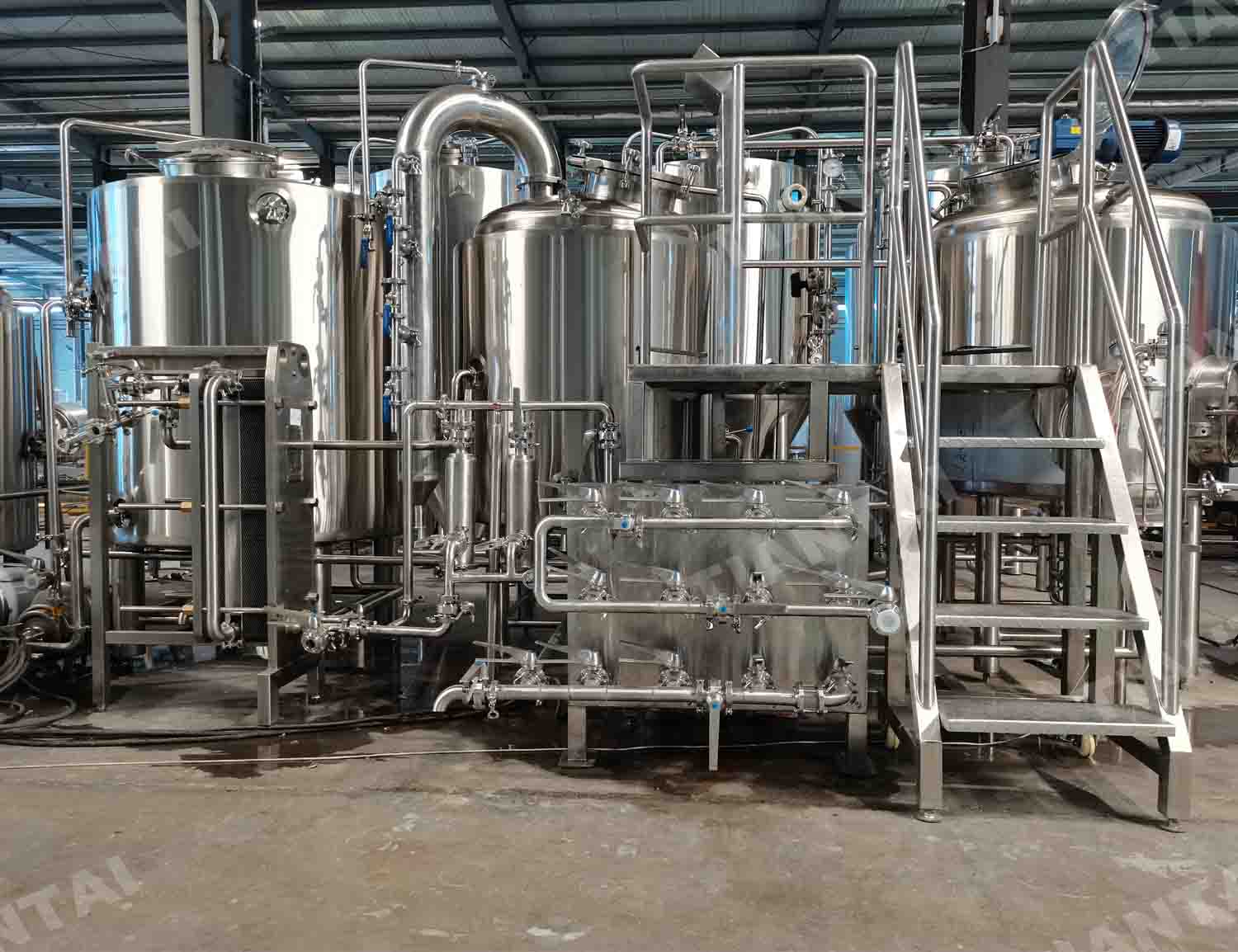 Latvia 500L beer brewing equipment for  brewpub