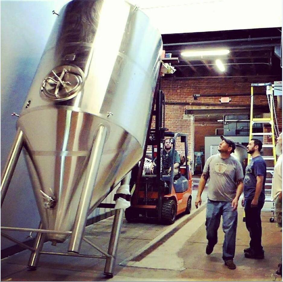 2000L brewery equipment installed in NewYork,USA
