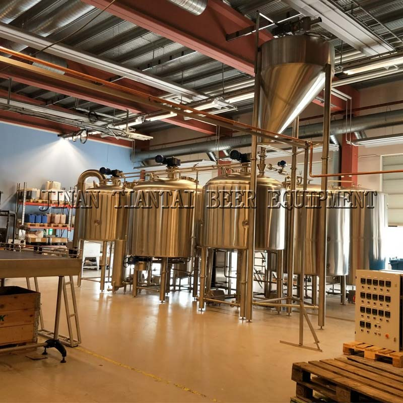Sweden 2000L brewery equipment