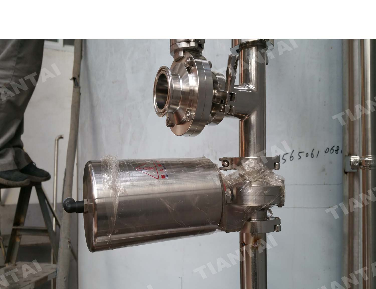 <b> pneumatic valve with PLC contrl for brewery</b>