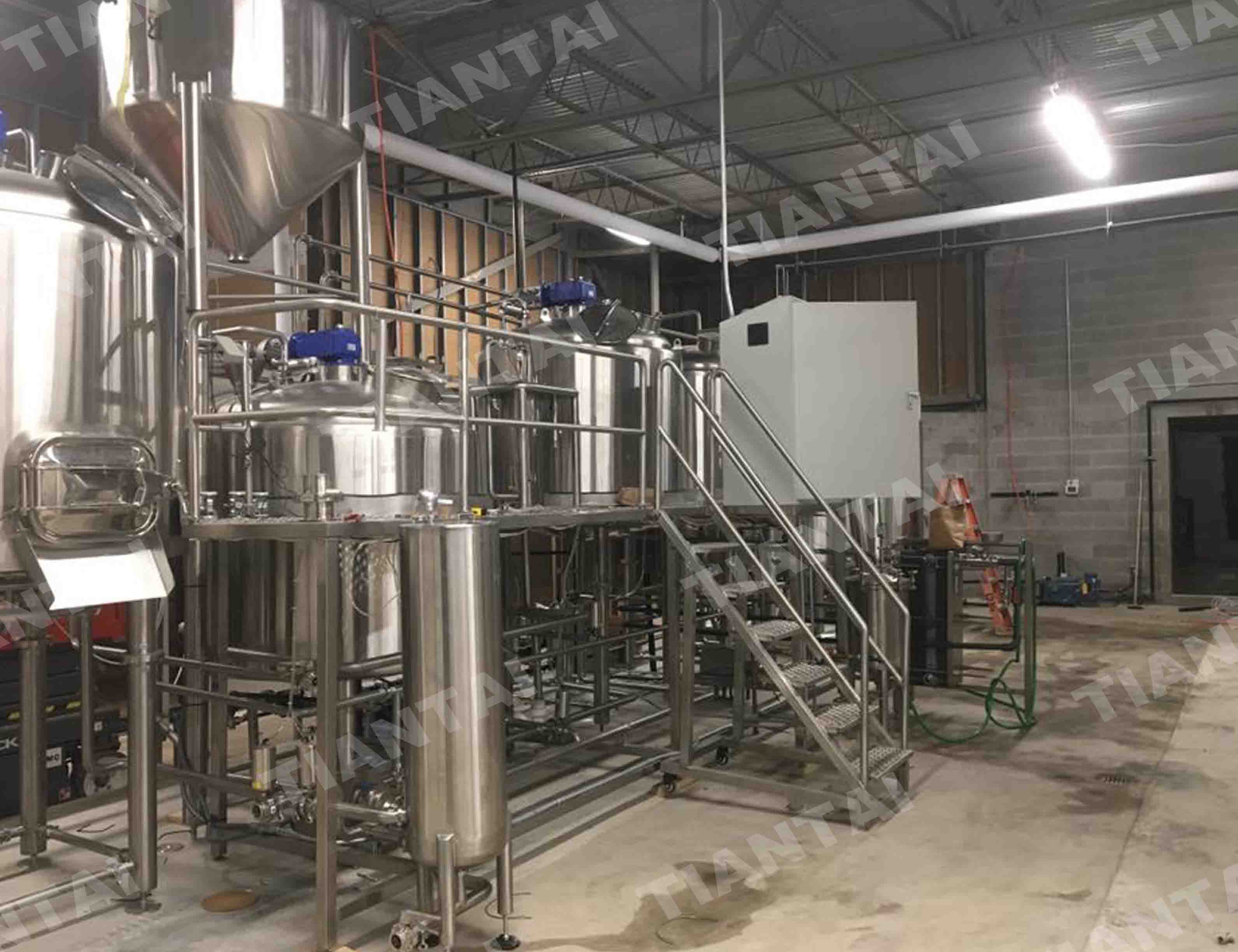 10BBL Micro Brewery Equipment Running Well in United States
