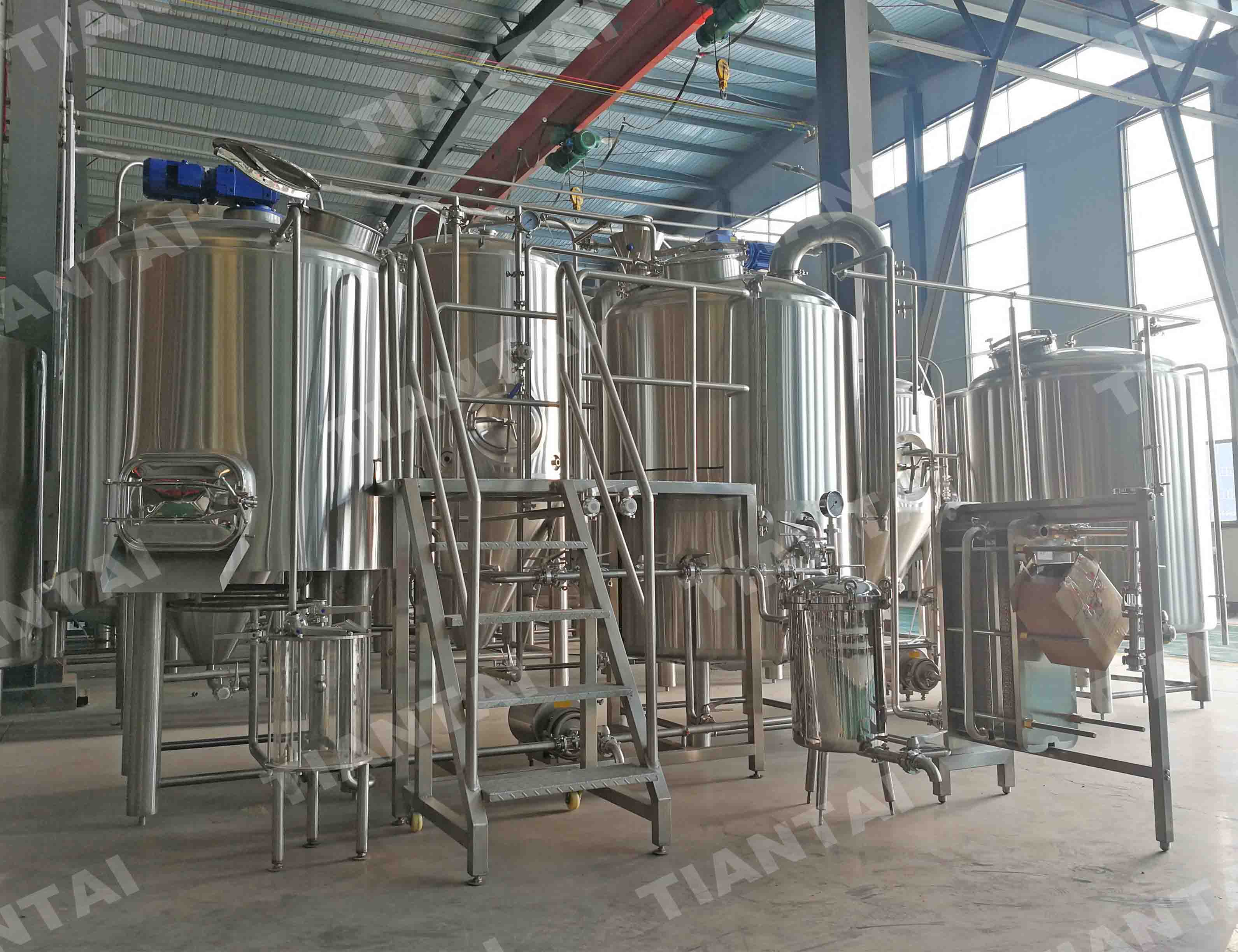 <b>1200L brewery equipment will be delivered to Australia</b>